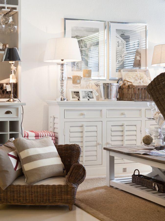 hamptons wohnzimmer strandhaus einrichtung hamptons wohnstil nordischer stil wohnraum dekorieren dekoration nautischen stil kstenstil - Nordische Wohnzimmer