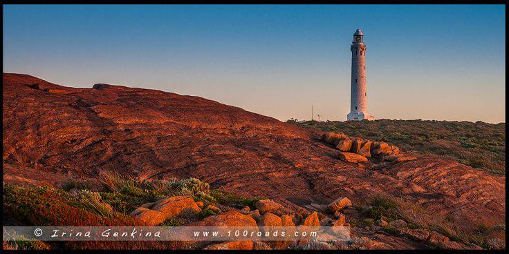 Маяк Мыса Лювин, Cape Leeuwin Lighthouse, Августа, Augusta, Западная Австралия, Western Australia, Австралия, Australia