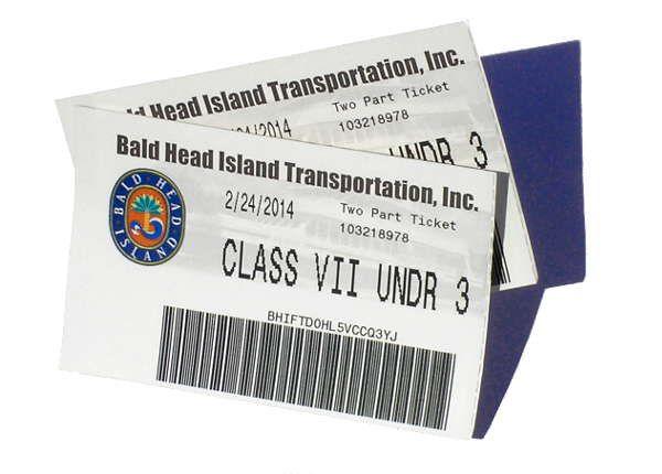 Bald Head Island Ferry Tickets