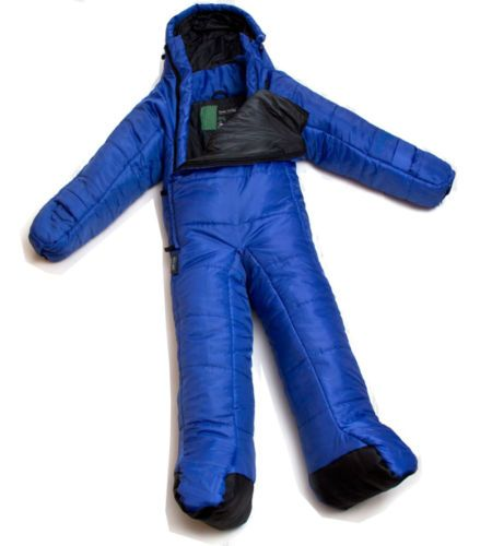 Selk Bag Camping Kids Children Small Body Nighty Wear Sleeping Bag Blue 48~55.9""