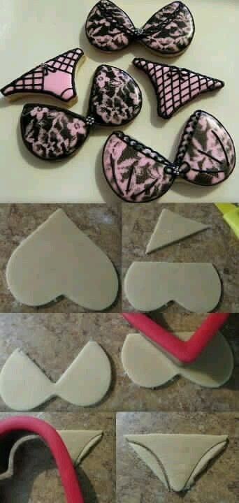 Bachelorette Party cookies maybe? for you miss  :) this would have to be at your bachelorette party!!