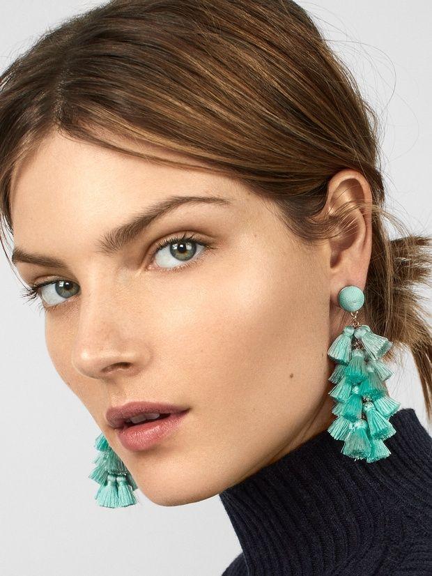 fc9e68118 Contessa Tassel Earrings | sample sales | Earrings, Tassel earrings ...