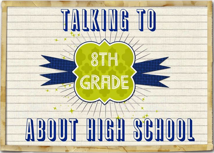 Talking to 8th Graders About High School (The Middle School Counselor)