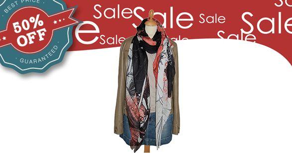 Nu met 50% korting! Groot formaat modal sjaal van het Deense merk Becksondergaard. Die kun je in het voorjaar en in de zomer ook nog door dragen.  Bestel op:   #becksondergaard #becksondergaardshawl #shawl