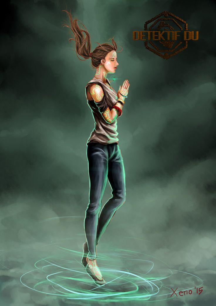 Detektif Du - fan art #2 Sasmitha by xeno-agito on DeviantArt