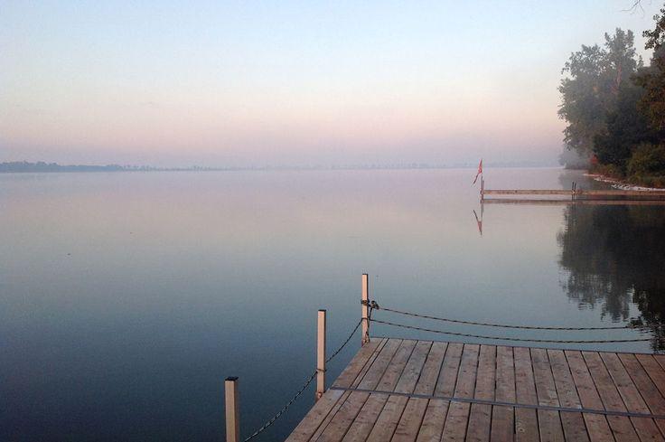 Sun rising on West Lake, Lilac Shores, Summer 2015 - Photo credit : Nancy Parks  VRBO.com/606831