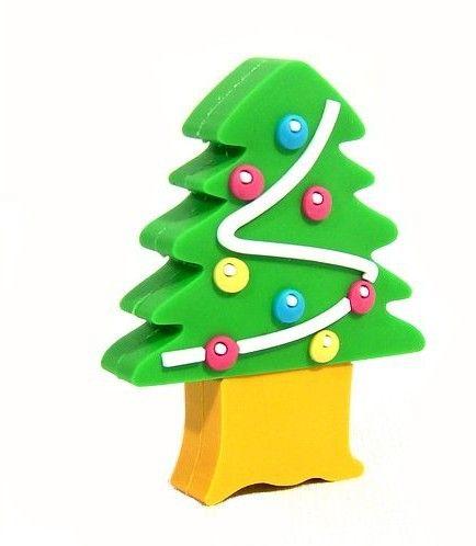 Christmas Tree USB Flash Drive. #duplicationservices #duplicationUK #easyreplication    https://www.easyreplication.co.uk