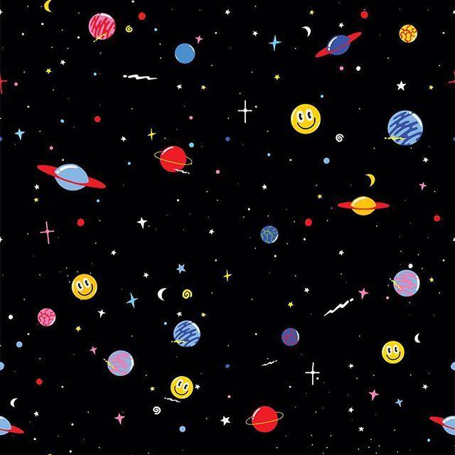 space wallpaper print - photo #29