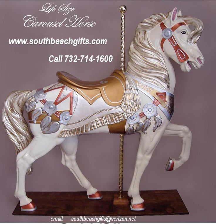Gold Horse Centerpiece : Images about carousel horse centerpieces table