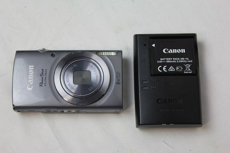 Canon PowerShot ELPH 160 20.0 MP 8x Optical Zoom Smart Digital Camera-Silver