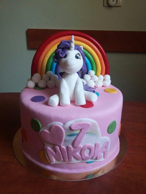 Rarity cake. My little pony cake
