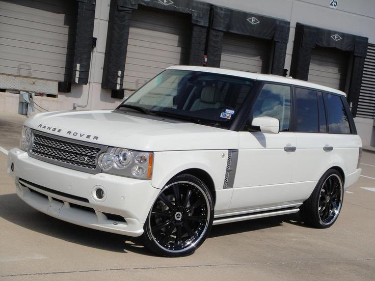 Range Rover Supercharged  Cars  Pinterest  White range rovers