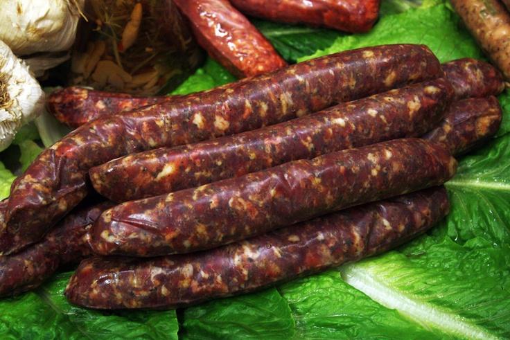 λουκάνικα, Greek sausage