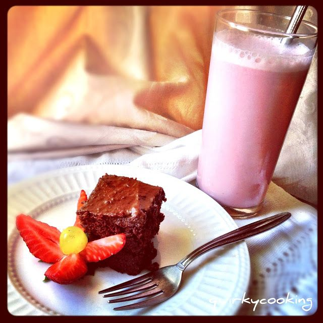Quirky Cooking: Strawberry Milk (dairy free)