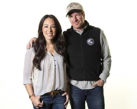 "Boston Globe - The cult of 'Fixer Upper' - PHOTO: Joanna and Chip Gaines of ""Fixer Upper."""