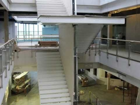 NEIT East Greenwich, RI. Beautiful visible tech learning spaces, linked by 3-story atrium. #NEFDC Spring 2012 Conference