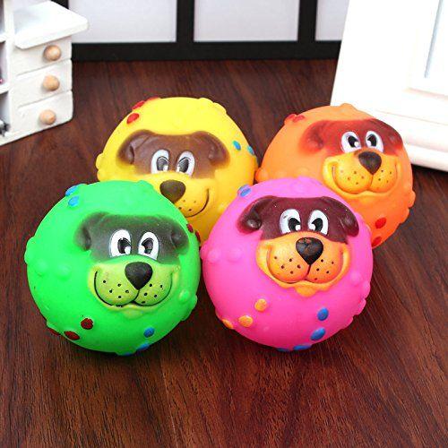 Dog Face Lion Ball Pet Talking Toys Pet Dog Toy Evade Glue Toys