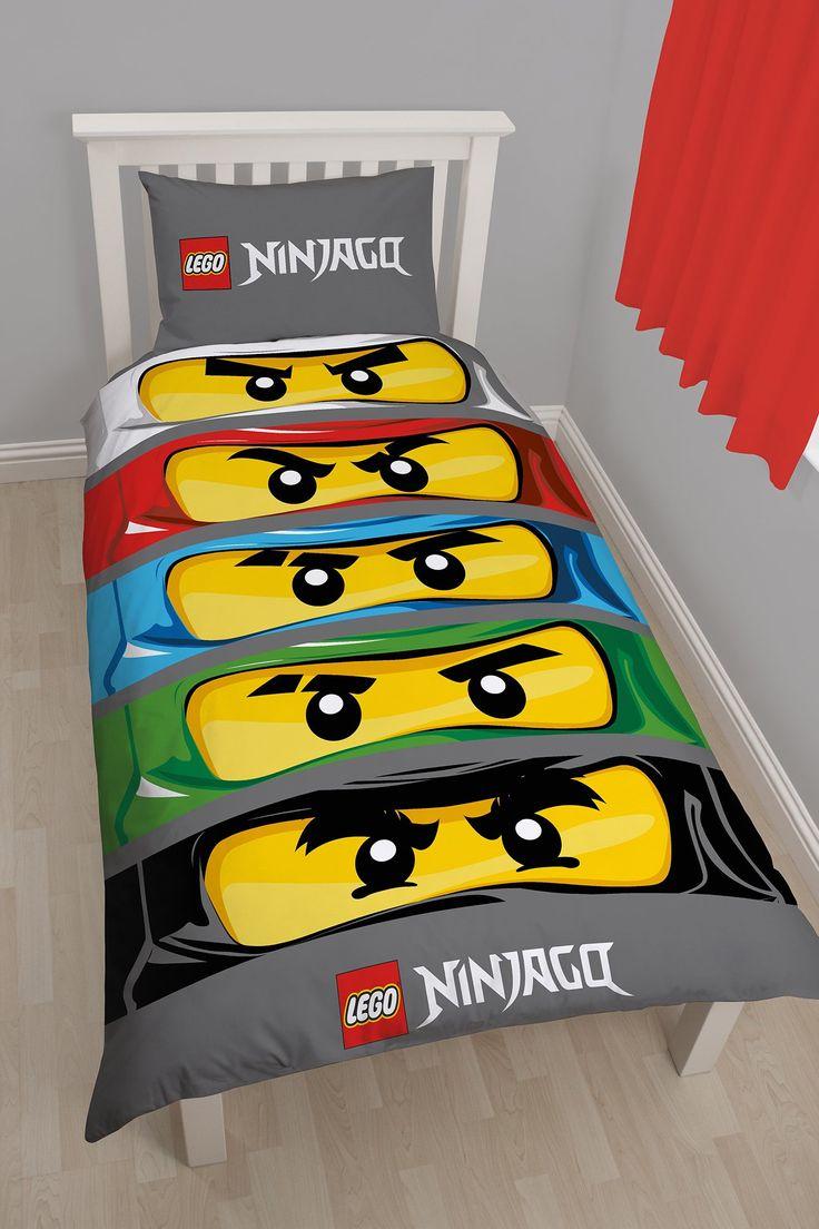 Character world lego ninjago eyes single panel duvet set - Lego ninjago d or ...
