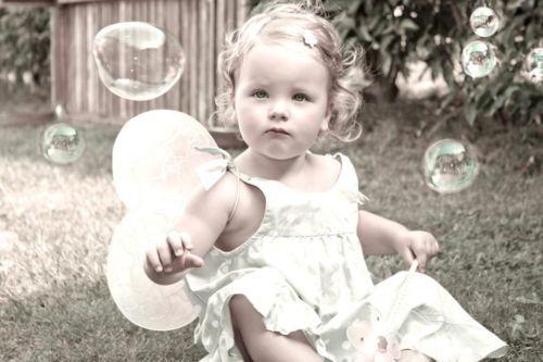 Seifenblasen foto