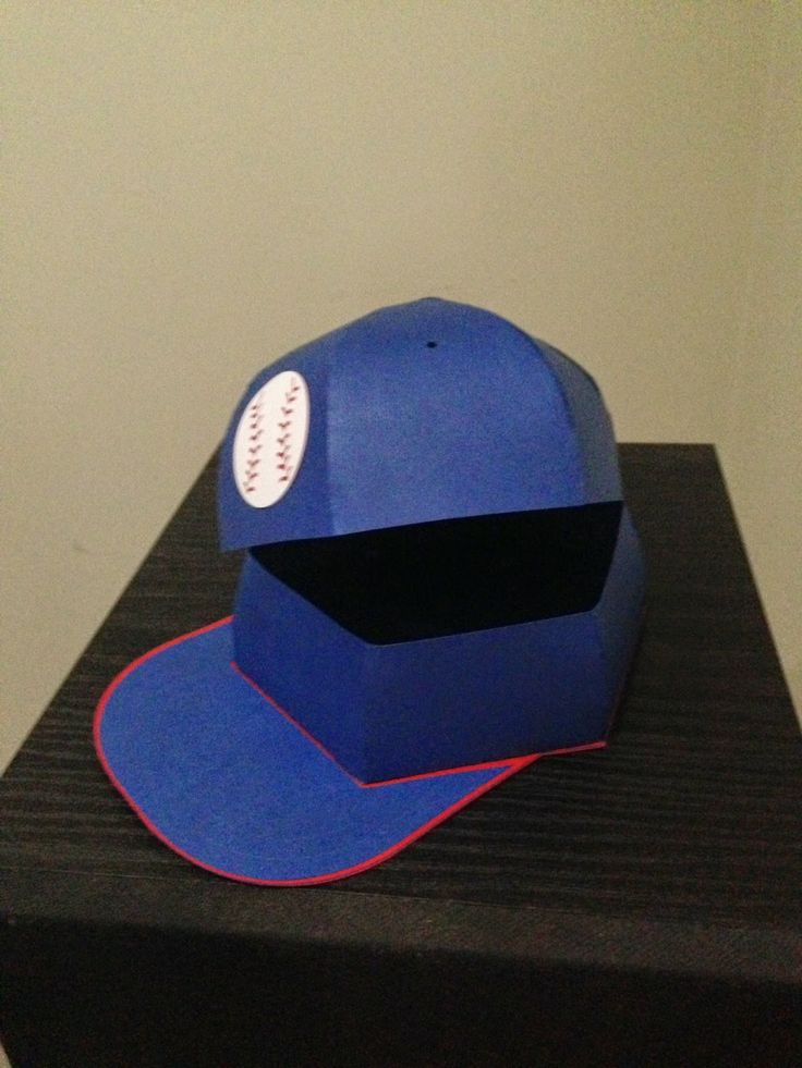 Crafting With Paper by Kimberly: Baseball Cap Box | 3d ...