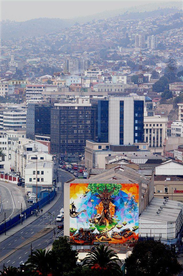 Valparaíso, Chile Valparaíso de mi amor.