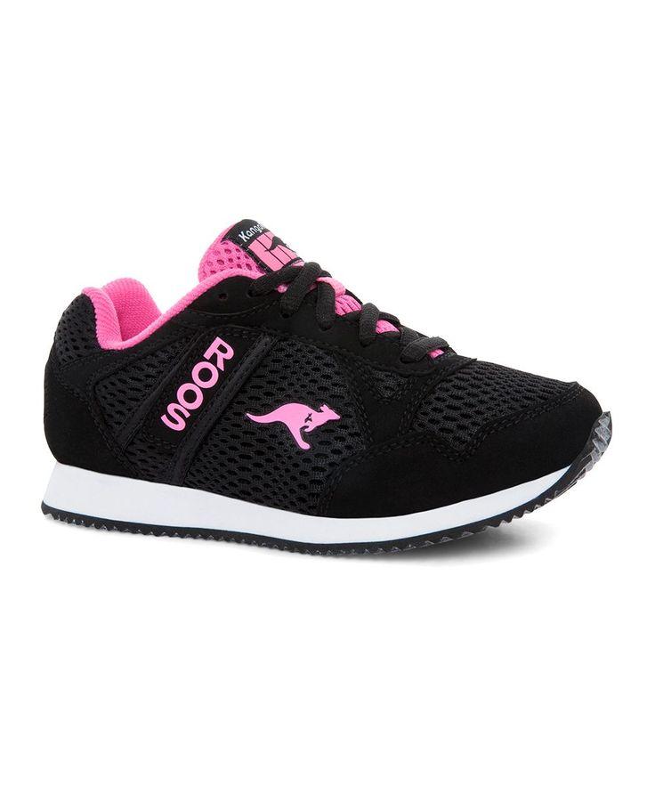 Black & White Taxter Sneaker - Kids