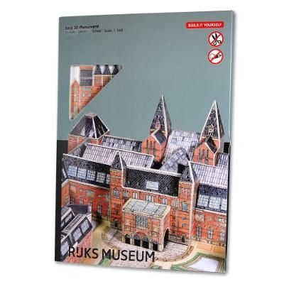 Rijksmuseum DIY Kit  Mail the diy kit to a handyman or construct the Rijksmuseum yourself.