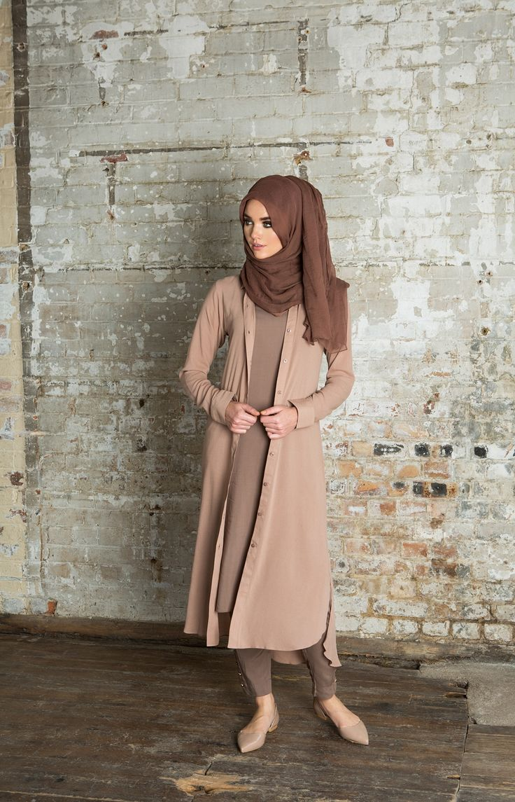 SHIRT DRESS PINKY NUDE #shirt #dress #modestwear #hijab #nude