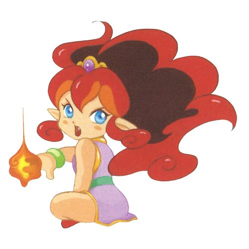 Flare, from Panel De Pon!Follow TheVideoGameArtArchive on Tumblr for awesome video game artwork old and new! Like what we do? Support us on Patreon!