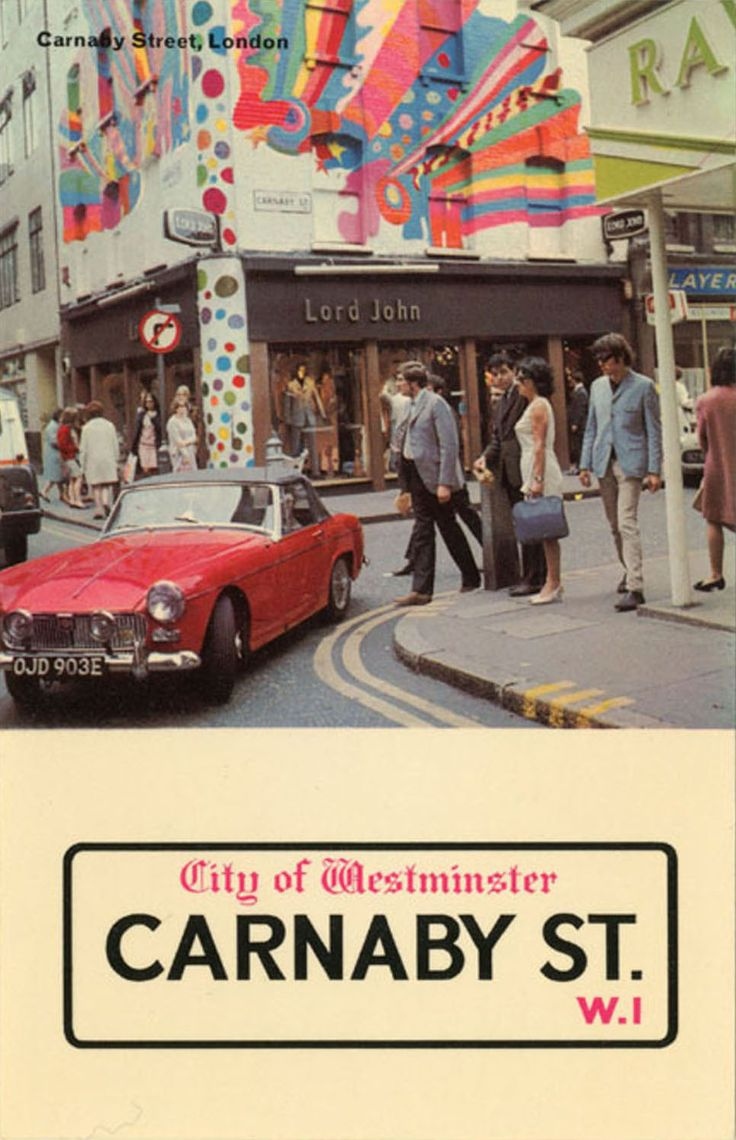 psychedelic-sixties:  Carnaby ST.