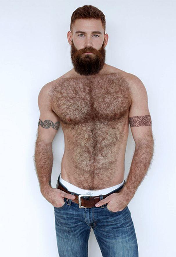 Naked bearded men for women