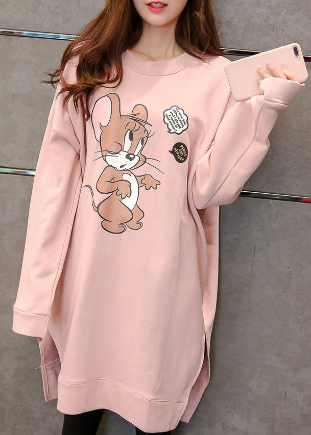 Large Size Cute Casual Hoodies _Hoodies_Outerwear_WHOLESALE CLOTHING_Wholesale clothing, Wholesale Clothes Online From China
