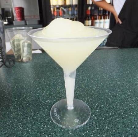Grey Goose Citron Lemonade Slush Recipe served at France Drink Kiosk in EPCOT at Disney World