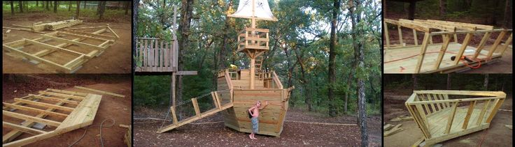 pirate ship playhouse instructions