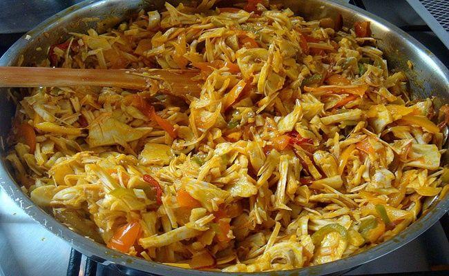 Receita de Carne de Jaca verde, aprenda como fazer essa deliciosa opção, é uma fruta originária do sul da Ásia, pode ser cozida de diferentes maneiras