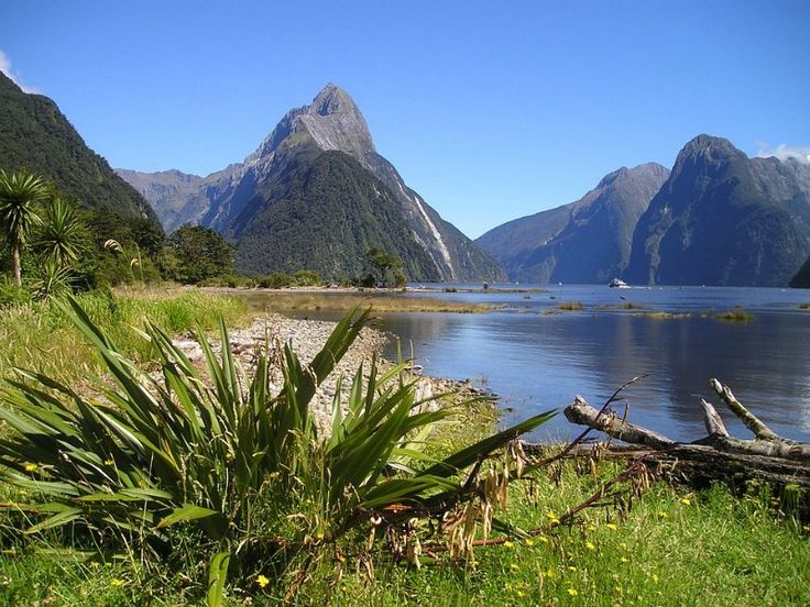 Miter Peak Fiordland National Park New Zealand