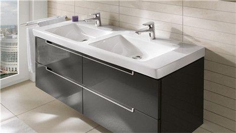badezimmer einzelschr nke schminktische und doppel waschtisch. Black Bedroom Furniture Sets. Home Design Ideas