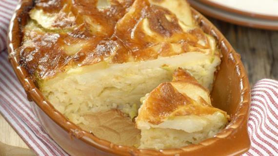Картофельная запеканка с кабачками, пошаговый рецепт с фото