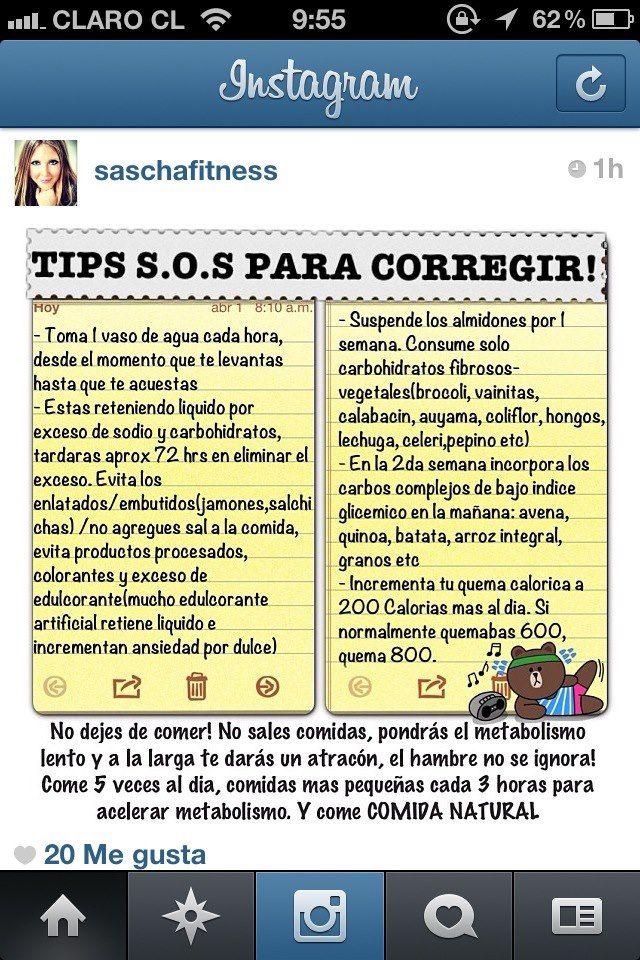 Tips para corregir #Nutrición y #Salud YG > nutricionysaludyg.com