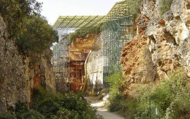 Yacimiento de Gran Dolina en Atapuerca