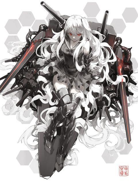 「空母棲姫」/「Nine」のイラスト [pixiv]