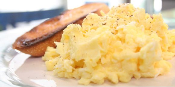 The Best Scrambled Eggs - no doubt, I've been doing this wrong for 45 years!  These are unbelievably good!