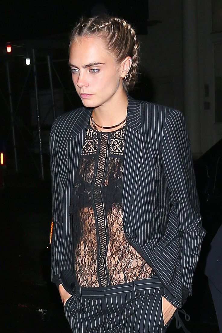 Cara Delevingne Breaks the Rules of the Shoulder-Length Crop With These 4 Rebel Looks