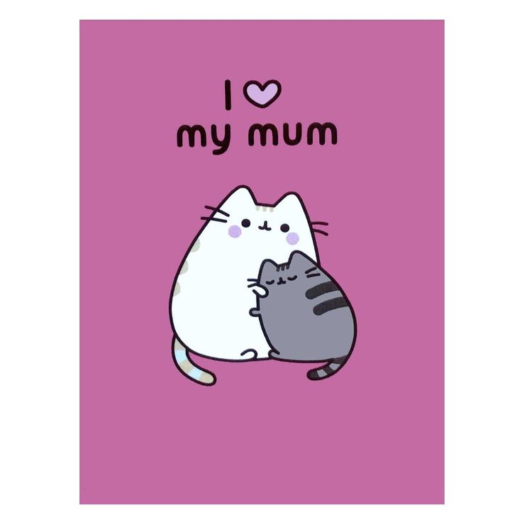 Pusheen card.Want to make Mum extra super happy? This official Pusheen card is sure to please. Blank inside with envelope.