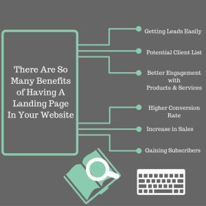 A good landing page targets a particular set of audience. Additionally, visitors can find your site and its other service or product pages. Thus, it is beneficial to have landing pages. Read this blog to know more!