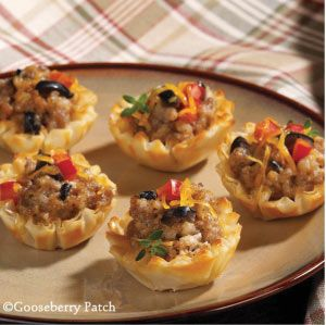 90 best phyllo cups appetizers to desserts images on for Phyllo dough recipes appetizers indian