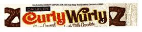Cadbury's Curly Wurly candy bar - 1970's. Yum