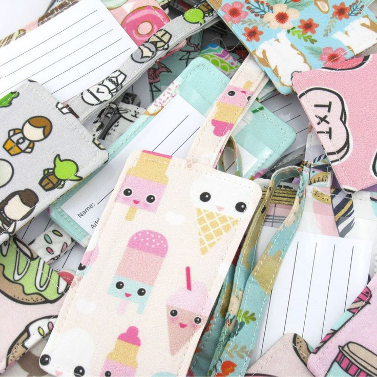 So many NEW luggage tags are now available!