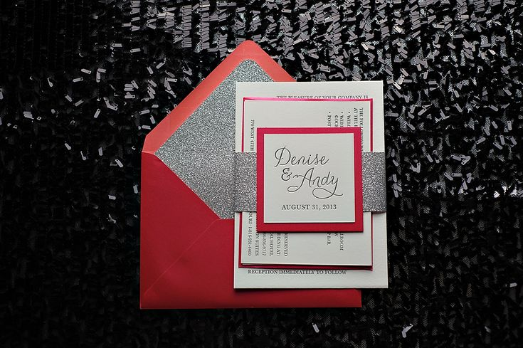 Red Black And Silver Wedding Invitations: Best 25+ Bling Wedding Invitations Ideas Only On Pinterest