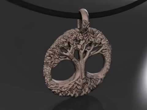 Yggdrasil - Tree of Life Pendant